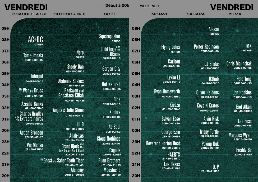 solidays 2016 programme