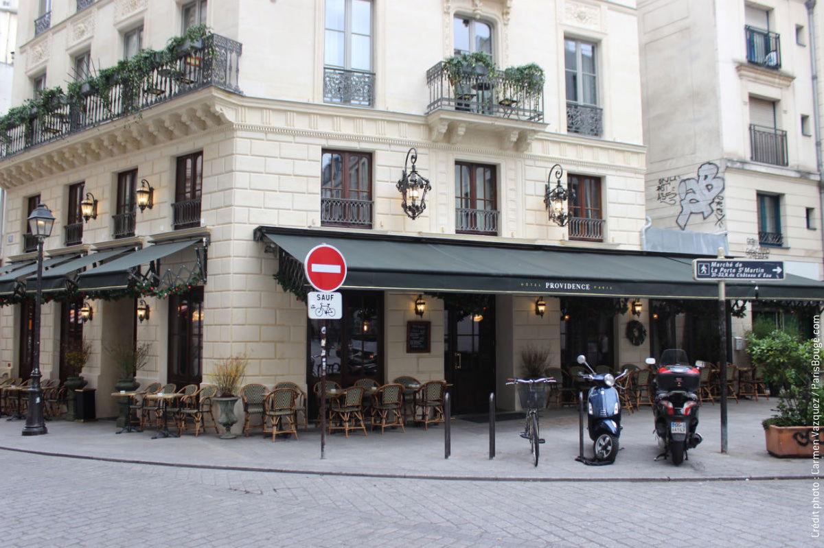 Restaurant De L U0026 39 H U00f4tel Providence  U00e0 Paris   Une  U00e2me De