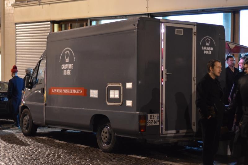 Caravane dorée food truck