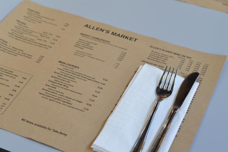 allen market Paris burger