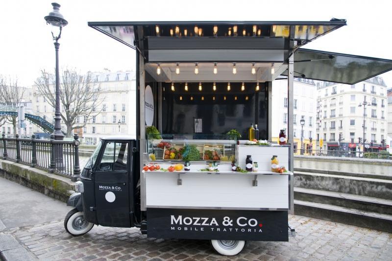 mozzarella camion paris