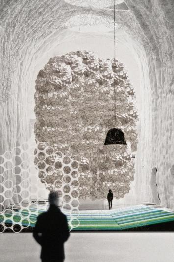 expo des fr res bouroullec aux arts d co c 39 est g ant. Black Bedroom Furniture Sets. Home Design Ideas