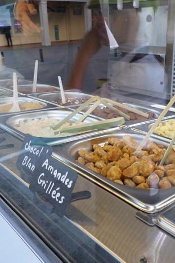 Marguerite du pré yaourt glacé bio food truck