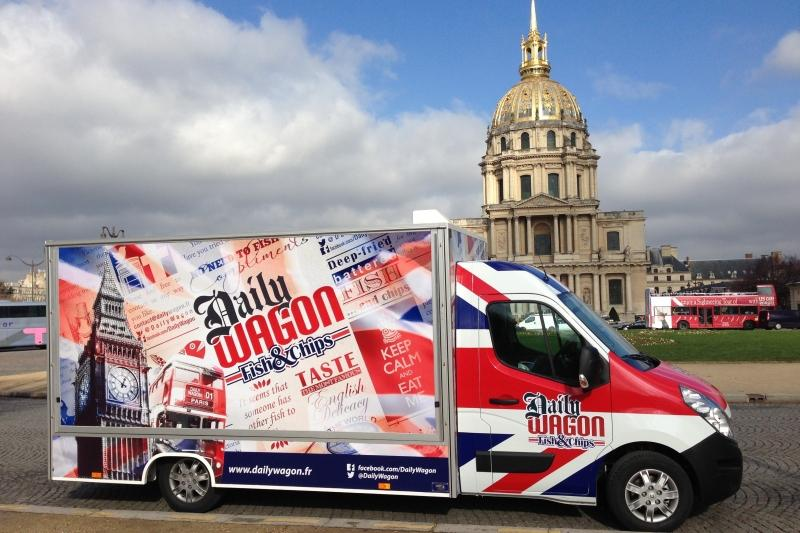 daily wagon food truck so british fish and chips