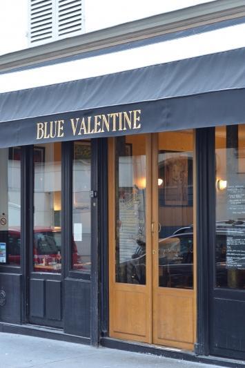 Blue Valentine resto paris