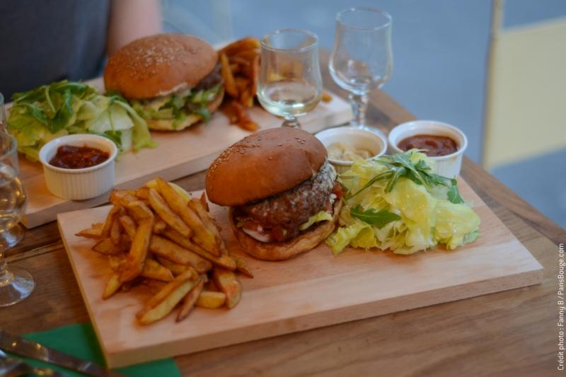 restaurant paris echoppe burger