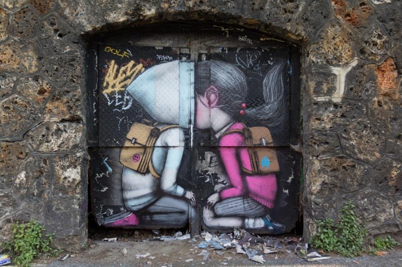 street art paris canal ourq