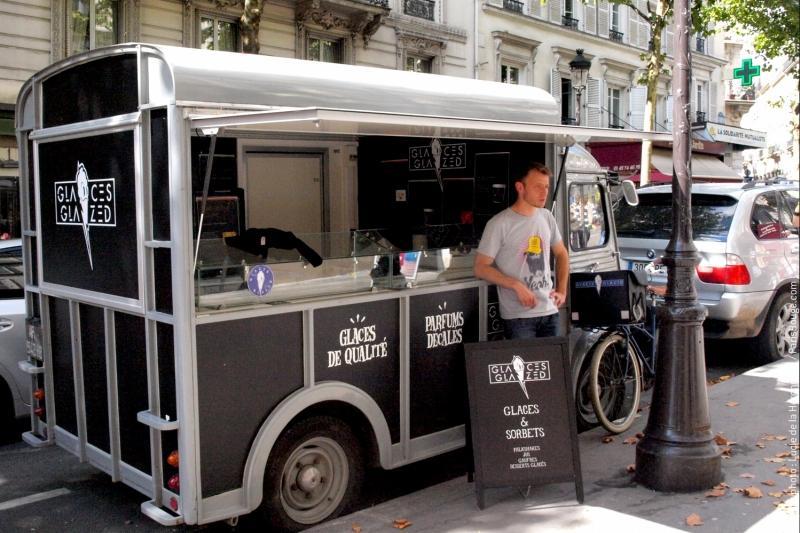 Glazed glaces Paris