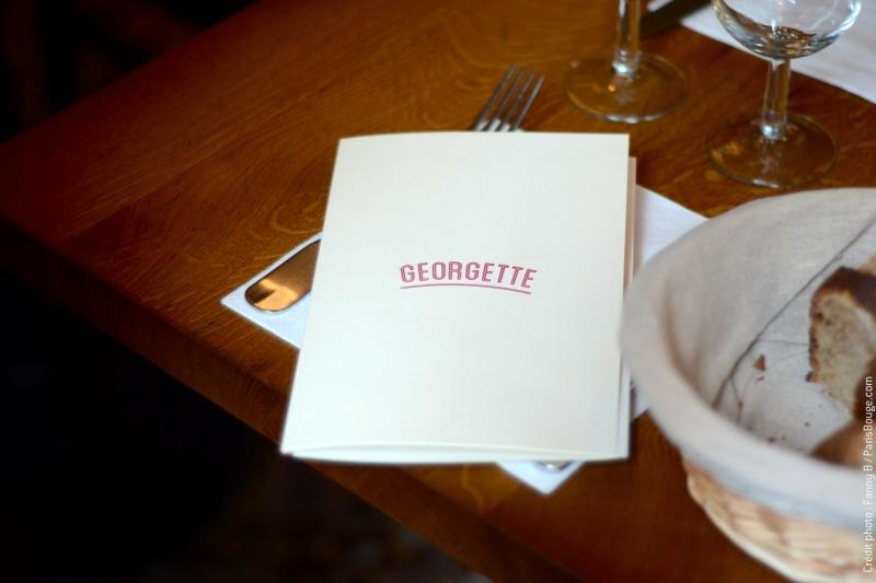 restaurant paris georgette resto