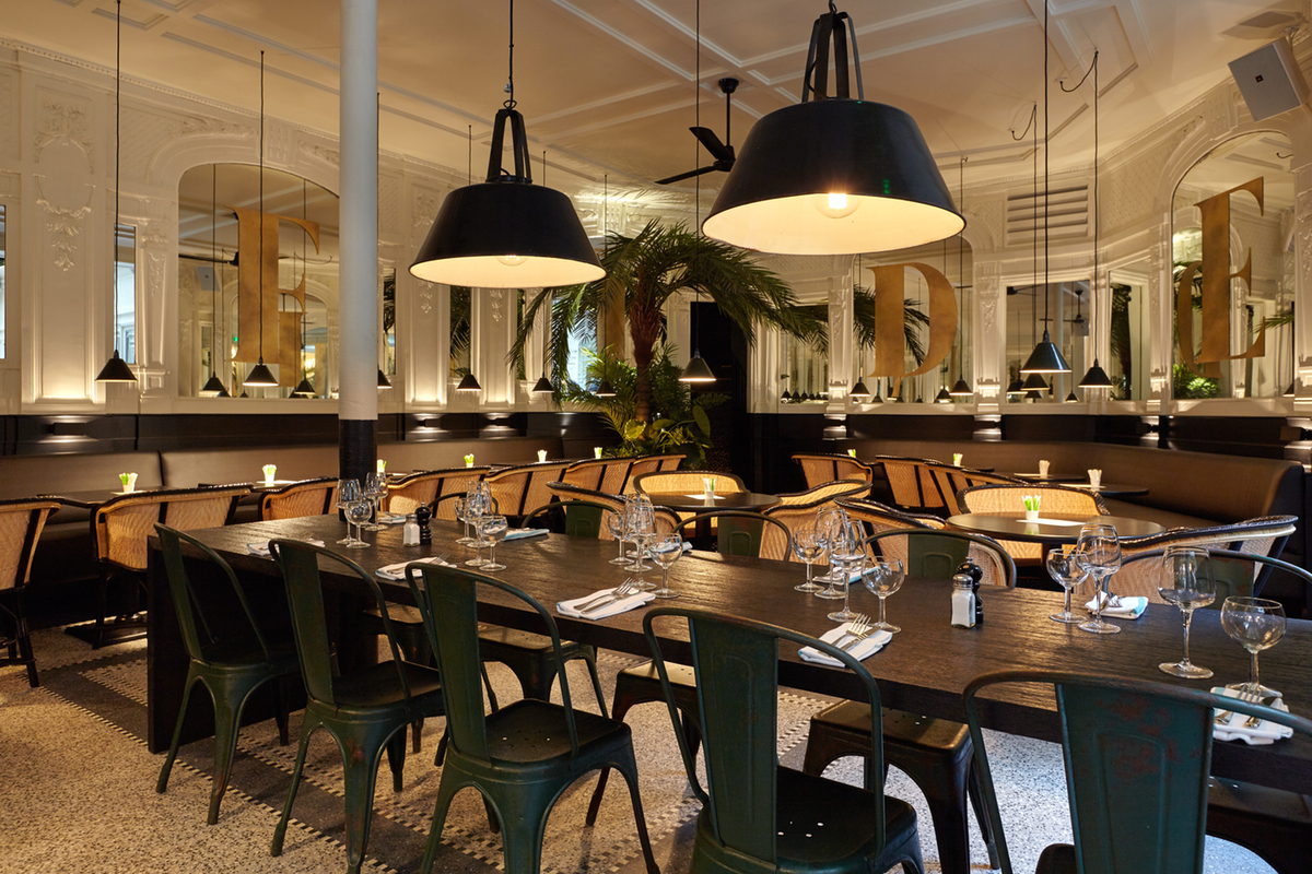 La fid lit bistrot chic pour d cor tropical for Articles cuisine paris