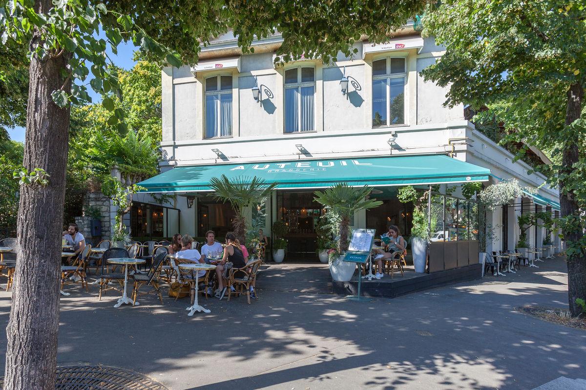 Brasserie Auteuil Terrasse Et Rooftop A L Italienne Au Cœur Du 16eme