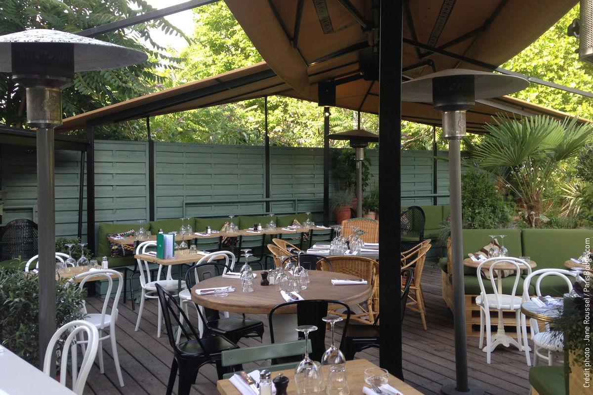 brasserie auteuil terrasse et rooftop l 39 italienne au c ur du 16 me. Black Bedroom Furniture Sets. Home Design Ideas