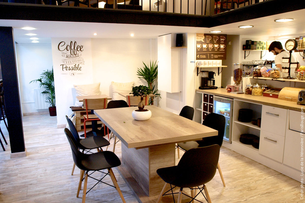 hubsy café paris coffee shop workshop espace coworking resto cantine