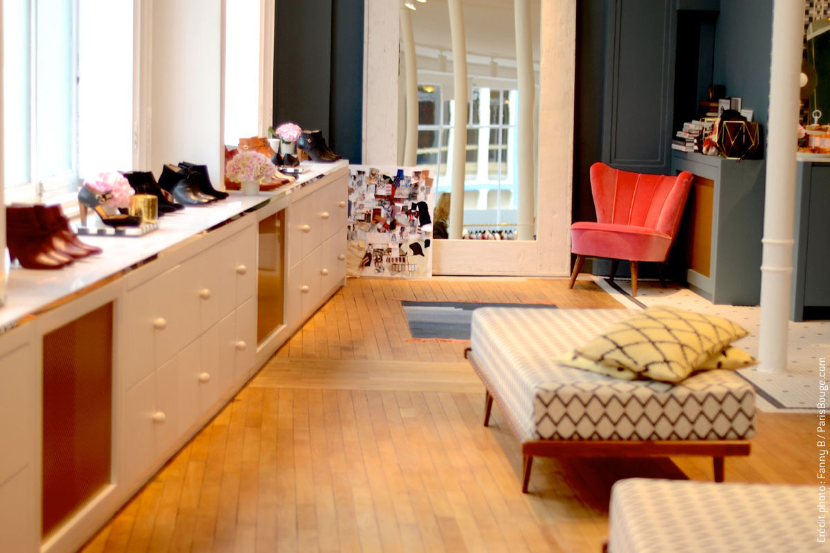 appartement sezane paris boutique fashion shop mode