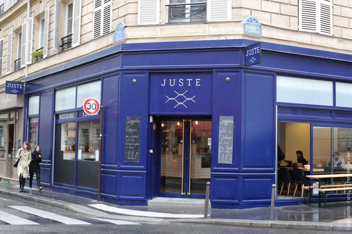 Juste Restaurant  Rue Laffitte