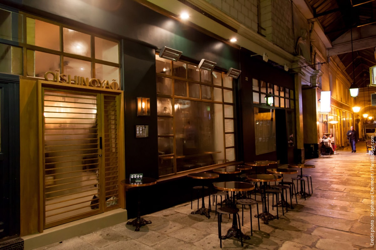 restaurant o shinoya la cantine japonaise comme tokyo. Black Bedroom Furniture Sets. Home Design Ideas