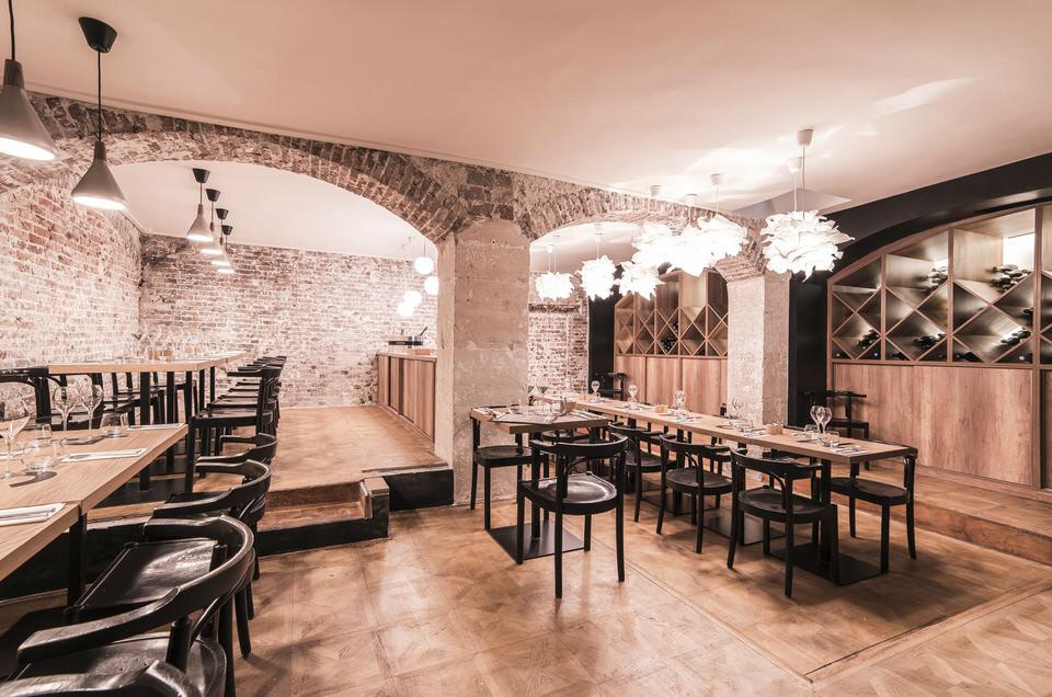 canard et champagne le restaurant chic du terroir fran ais passage des panoramas. Black Bedroom Furniture Sets. Home Design Ideas