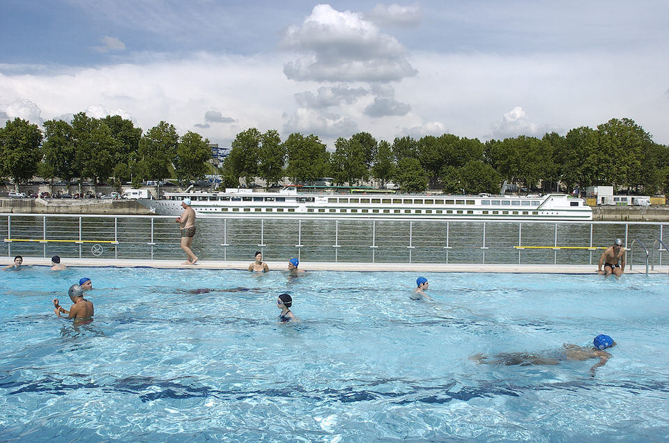 Les 10 plus belles piscines paris for Piscine josephine baker