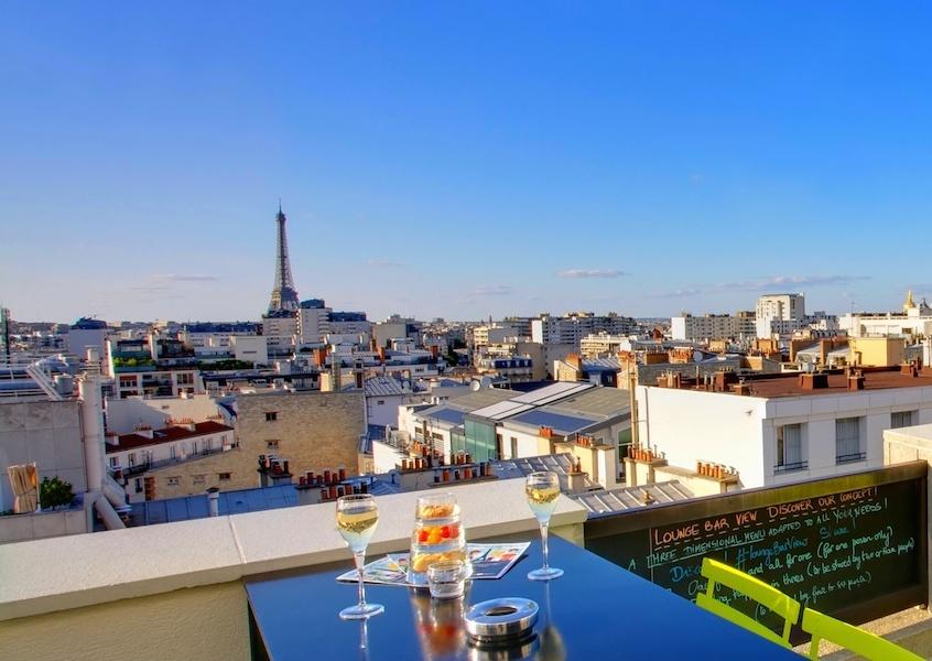 Rooftop paris les meilleurs rooftops paris for Piscine montparnasse