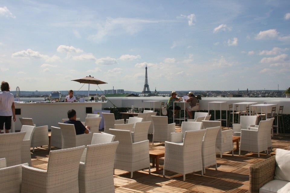 rooftop paris les meilleurs rooftops paris. Black Bedroom Furniture Sets. Home Design Ideas