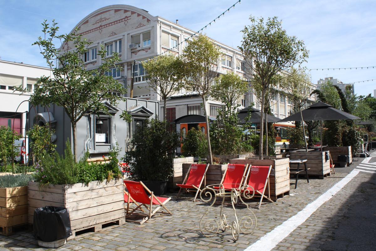 Les terrasses de l 39 t paris for Terrasse immo paris